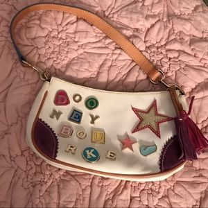 Dooney & Bourke Multicolored Charms Leather Bag